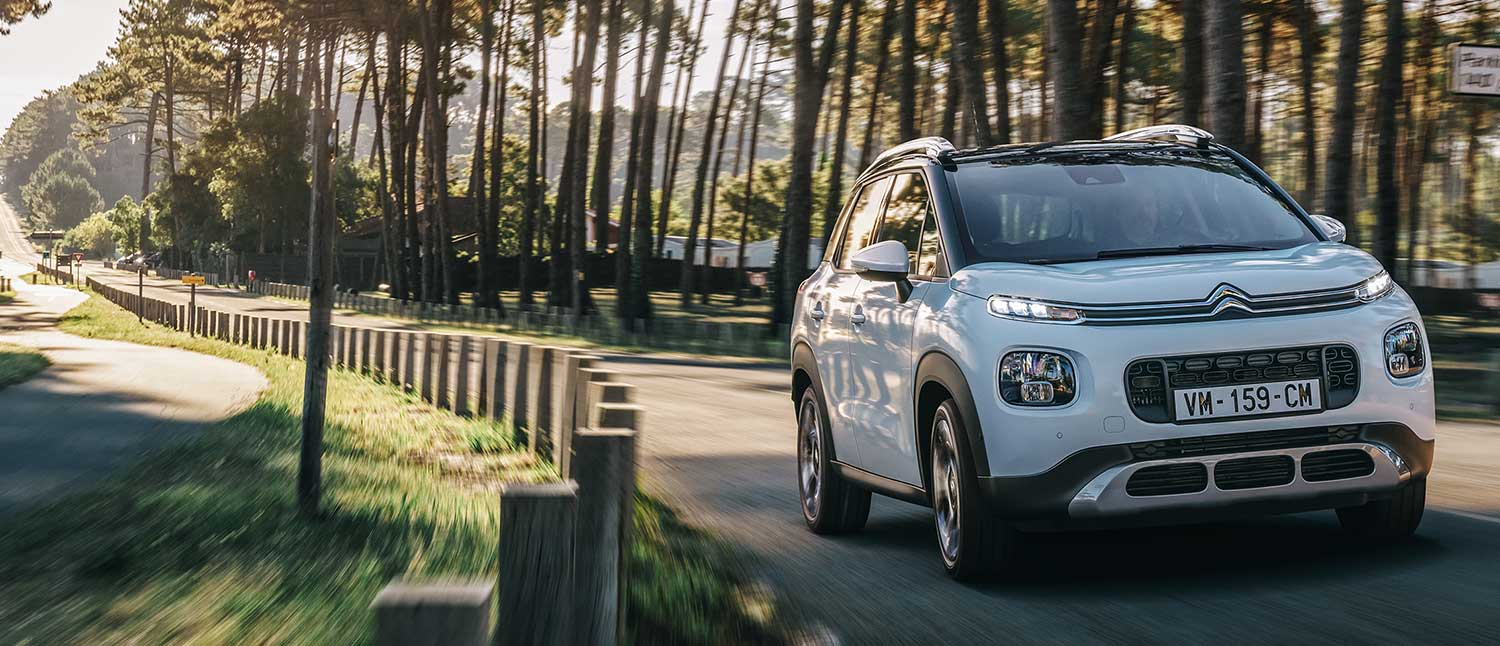 4 MOTORISATIONS EFFICIENTES SUV Citroën C3 Aircross
